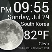 App Weather Clock Widget version 2015 APK