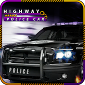 Highway Police Car