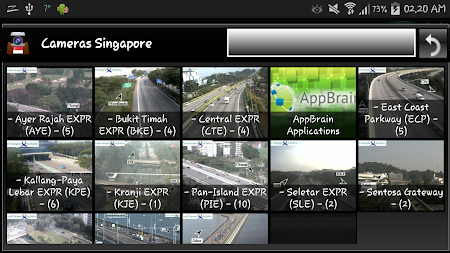 Cameras Singapore - Traffic 5.9.7 screenshot 1264663