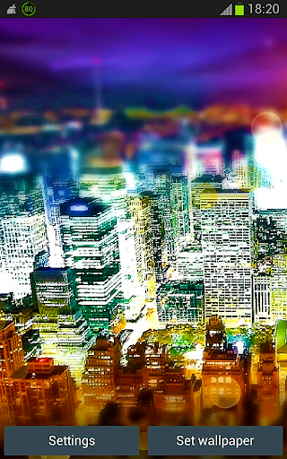 Town 3D Free Live Wallpaper
