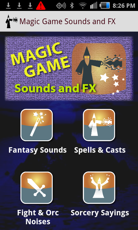 Epic Magic Game Sounds and FX - screenshot