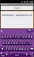 Screenshot of SlideIT Azerbaijani Pack