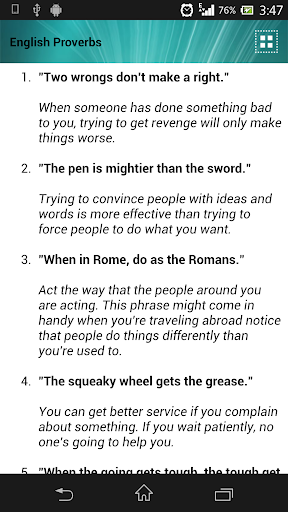 Famous English Proverbs