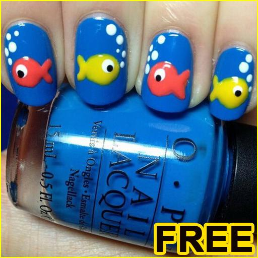 Easy Nail Art kid designs