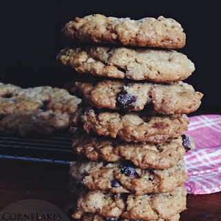 Cornflakes & Chocolate Oatmeal Cookies.