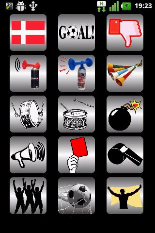 Denmark Soccer Fan