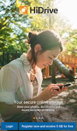 HiDrive Screenshot 1