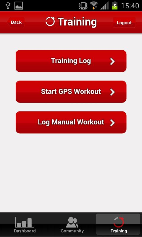 FitTrack- screenshot
