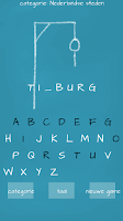 Screenshot of Hangman (Dutch)