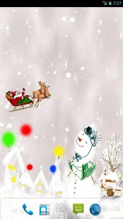 Christmas Snow Live Wallpaper- screenshot thumbnail
