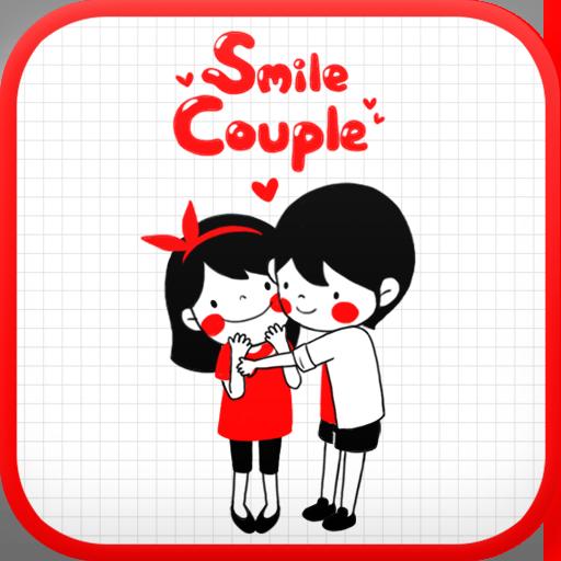 Smile Couple go locker theme