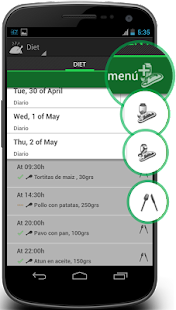 4F Diet Exercises & Fitness - screenshot thumbnail