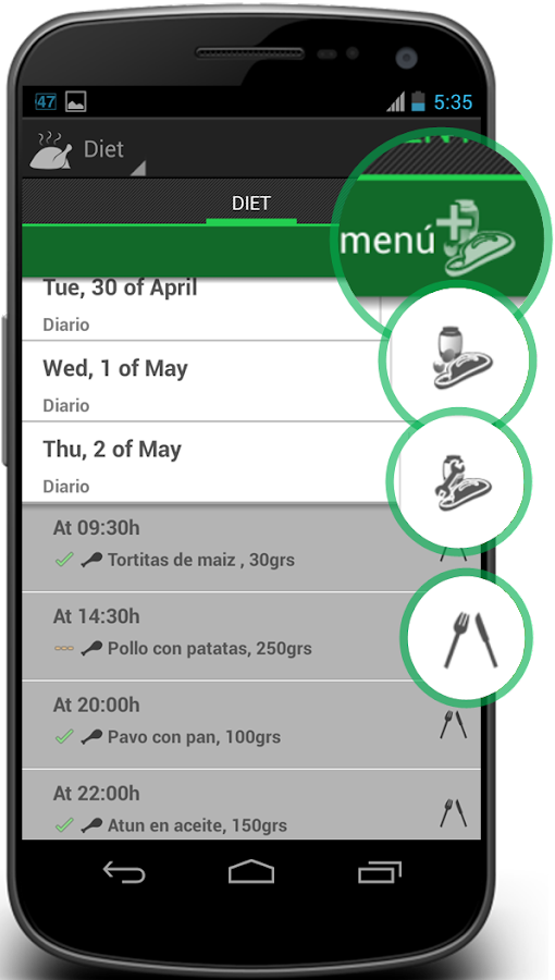 4F Diet Exercises & Fitness - screenshot