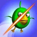Cut the Birds 3D icon