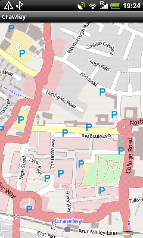 Crawley Street Map Android Apps on Google Play