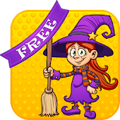 Lovely Witches Puzzle Game