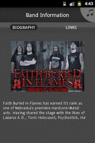 Faith Buried In Flames - screenshot