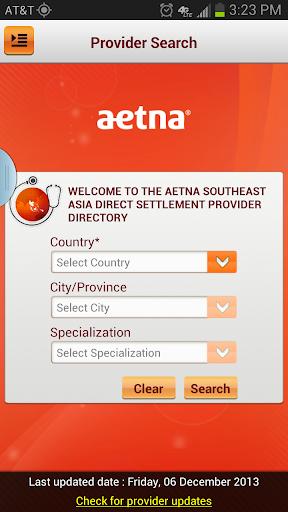 Aetna Southeast Asia Provider