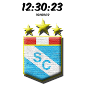 Sporting Cristal Digital Clock