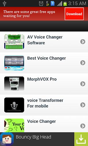 玩通訊App|غير صوتك اثناء المكالمة免費|APP試玩