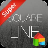 Square line dodol theme