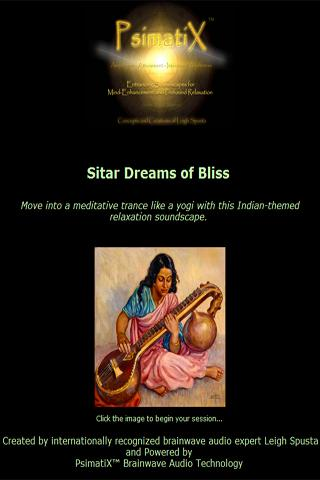 Deep Meditation Sitar Music- screenshot