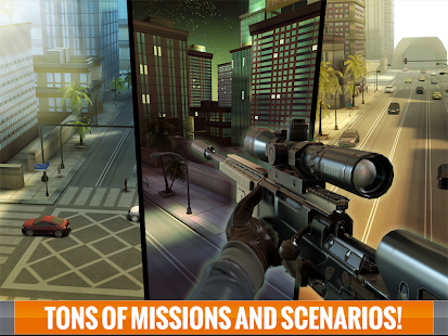 Sniper 3D Assassin: Free Games v1.6.1 MOD Apk + OBB Data [Unlimited Money]