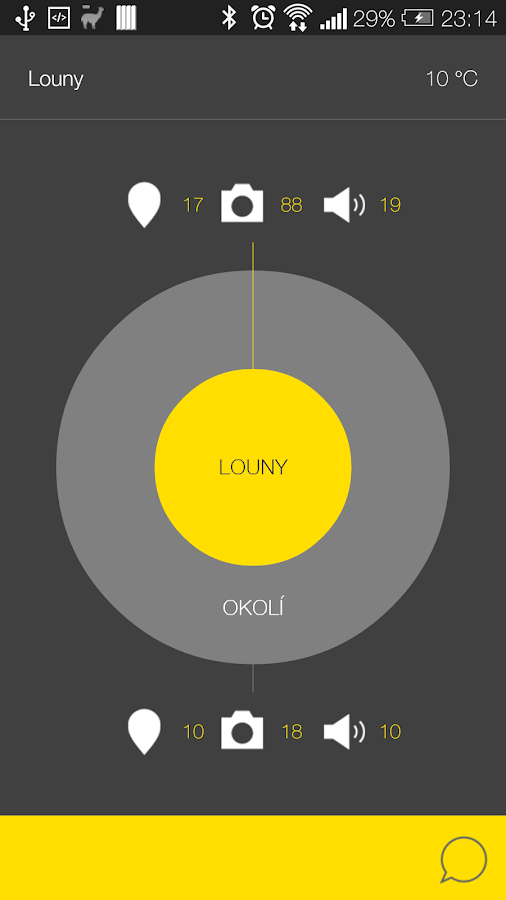 Louny - audio tour- screenshot