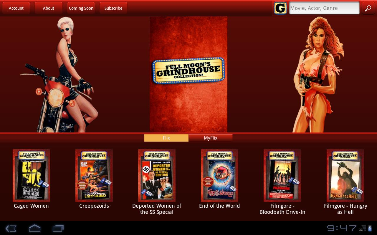 GrindhouseFlix - screenshot