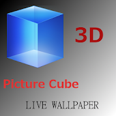 3D Picture Cube Wallpaper
