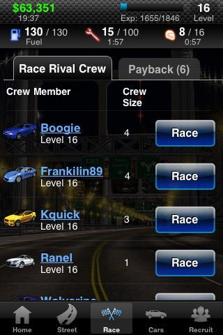 Racing Live™- screenshot