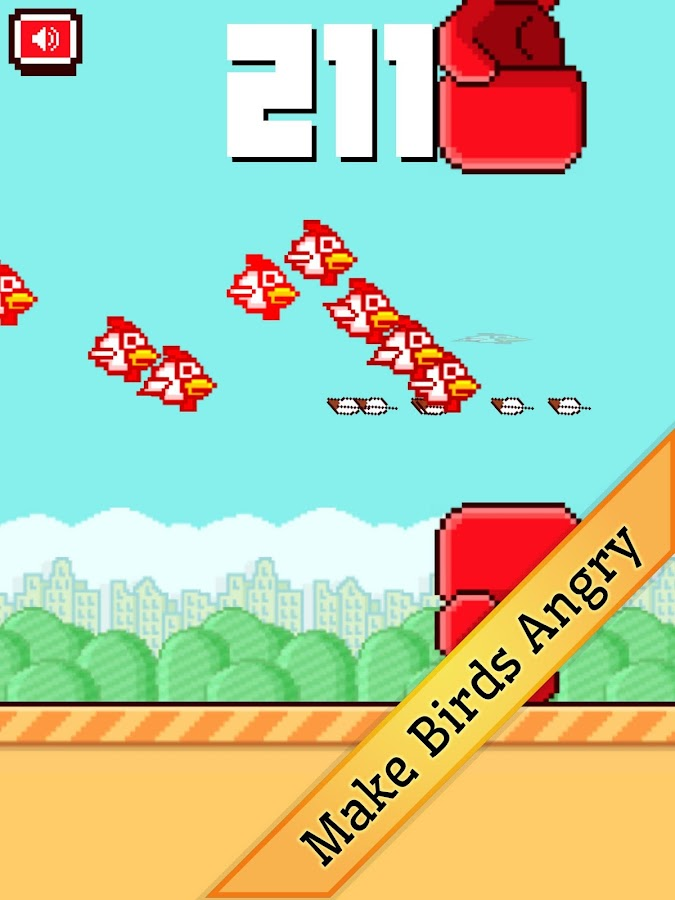 Bashy Birds- screenshot