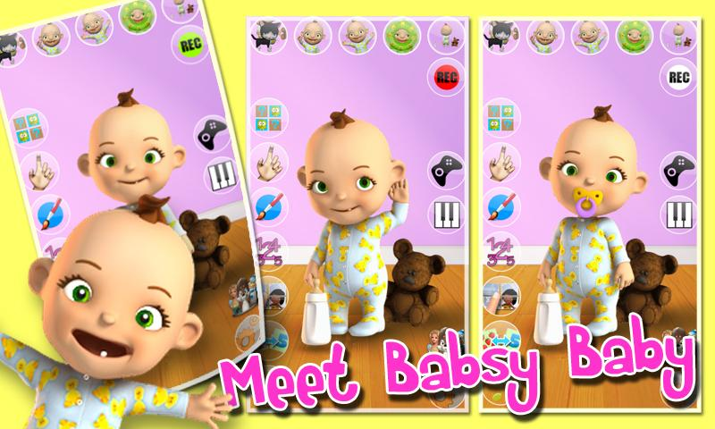 Talking Babsy Baby - screenshot