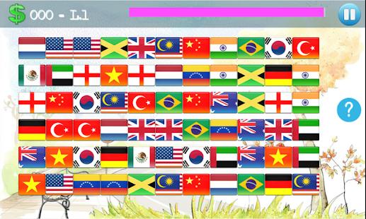 【免費解謎App】Connect them - Connect flag-APP點子