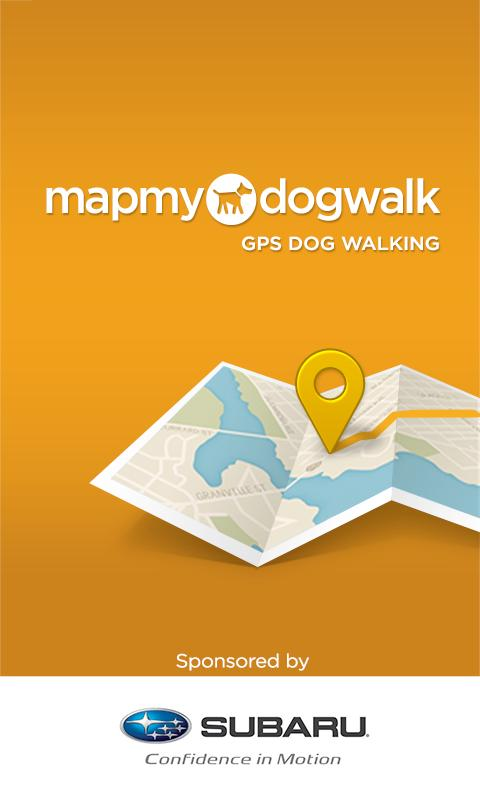 MapMyDogWalk - screenshot