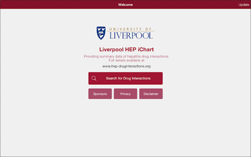Liverpool HEP iChart- screenshot thumbnail