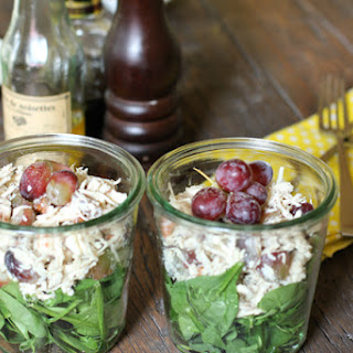 Chicken Salad Recipe in a Jar.