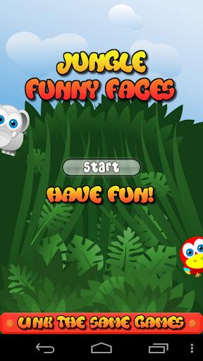 Jungle Funny Faces Free