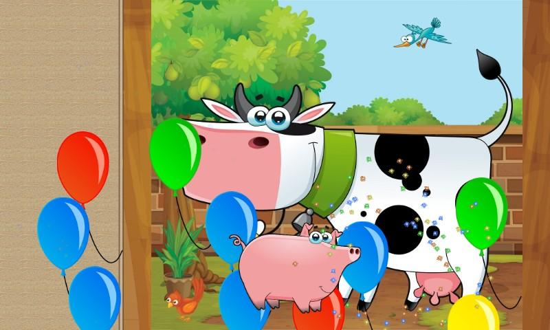 Fun Farm Puzzle Games for Kids- screenshot