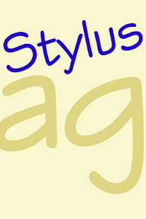 Stylus FlipFont - screenshot thumbnail