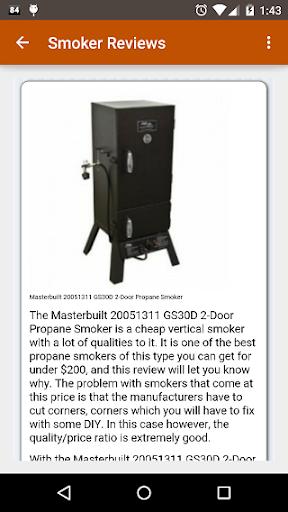 BBQ Smoker Info