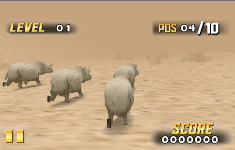 Savanna Race- screenshot thumbnail