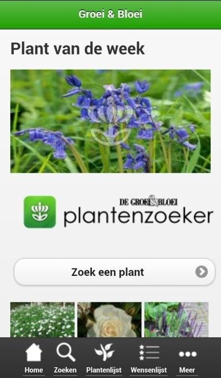 Plantenzoeker lite- screenshot
