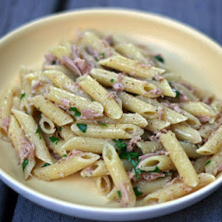 Penne with Tuna and Spicy Mustard