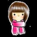 可愛MM教你圍圍巾 icon