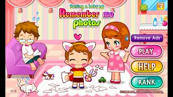 Screenshot of Remember me photos