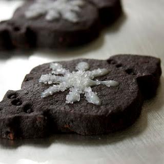 Exquisite Dark Chocolate Shortbread