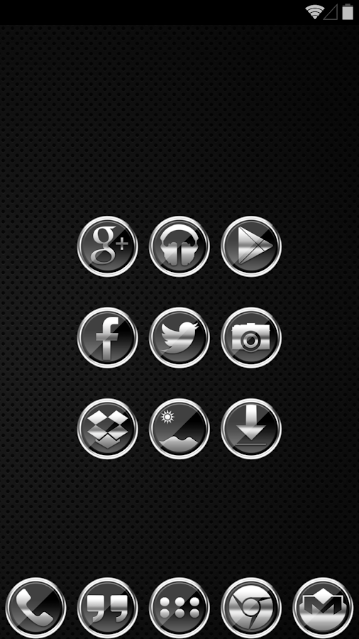 Icon Pack - Platinum - screenshot