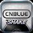 CNBLUE SHAKE logo