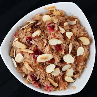 Cranberry Rice Pilaf.